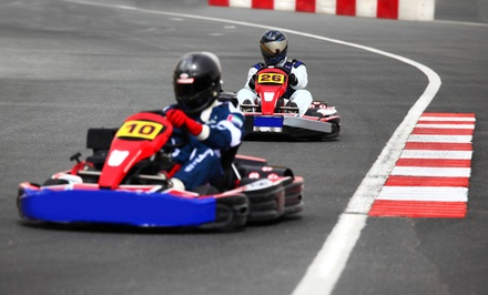 Outdoor Karting: 15 or 30 Minutes for One or Two at Tockwith Karting (Up to 45% Off)