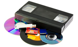 ScanDiego: Digitization Services or Three Videotape-to-DVD Transfers at ScanDiego (Up to 67% Off)