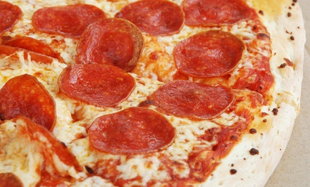 $13.99 for a Carryout Large One-Topping Pizza and Breadsticks at Magoo's Pizza ($25.98 Total Value)