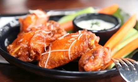 $24 for Three Groupons, Each Good for $14 Worth of Wings and Pub Food at Island Wing Company Bar & Grill ($42 Value)