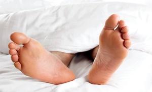 DIEGO DOMINGUEZ: 2 o 4 sesiones de laserterapia para tratar patologías en los pies desde 39,90 €
