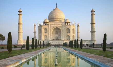 ✈ 8-Day India Tour with Airfare from smarTours. Price per Person Based on Double Occupancy.