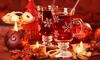 The Llyndir Hall Hotel & Spa - Rossett: Festive Afternoon Tea with Mulled Wine and Spa Access for Two or Four at The Llyndir Hall Hotel & Spa (Up to 38% Off)