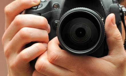 4h de cours de photo au choix collectif  en 2 cours de 2h pour 1 ou 2 personnes dès 34,90 € au Studio Le Carré