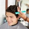 Shampoo, taglio capelli e barba