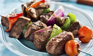 The Village Mediterranean: $12 for $20 Worth of Fresh Mediterranean Food for Two at The Village Mediterranean