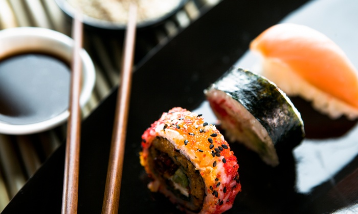 Bleu Sushi - Washington Square West - Center City - Philadelphia: Sushi and Japanese Food for Two at Bleu Sushi (Up to 40% Off)