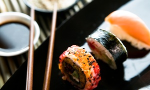 Bleu Sushi: $18 for $30 Worth of Sushi and Japanese Food for Two or More at Bleu Sushi