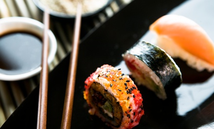 $15 for $30 Worth of Sushi and Japanese Food for Two or More at Bleu Sushi
