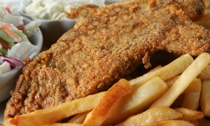 Treasure Island Tap House: $13 for $20 Worth of Seafood and Pub Food at Treasure Island Tap House
