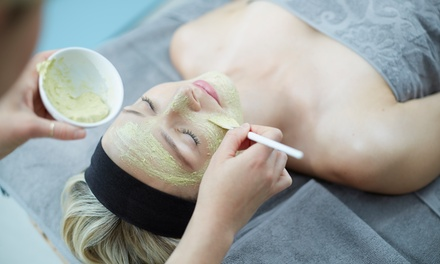 One  60-Minute Signature Facial at Turn Bluu Massage (46% Off)