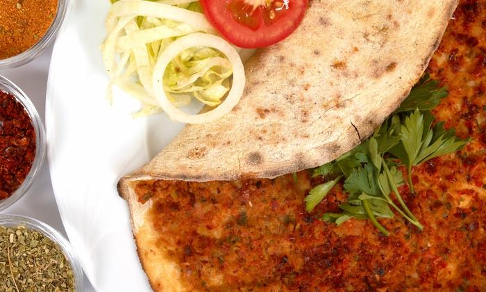 Jerusalem Cafe - Lombard Location: Middle Eastern Dinner for Two or Four at Jerusalem Cafe (42% Off)