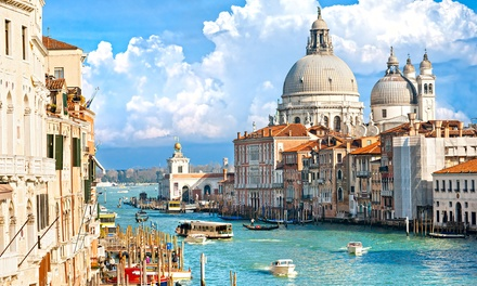 ✈ Venice: 24 Nights at a Choice of Hotels with Breakfast, Gondola Ride and Flights*