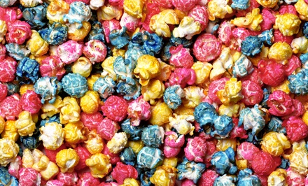 $12 for Two Groupons, Each Good for $10 Worth of Popcorn at Poppin Chicago Style ($20 Value)