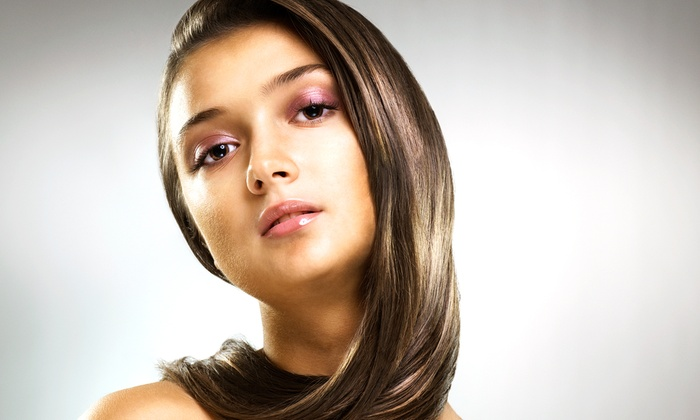 Maddi James Salon - Eden Prairie: Hair Service Package from Maddi James Salon (Up to 59% Off). Three Available Choices.