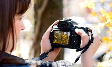 $70 for DSLR Camera Sensor and Lens Cleaning at Camera Repair Service ($ Value)