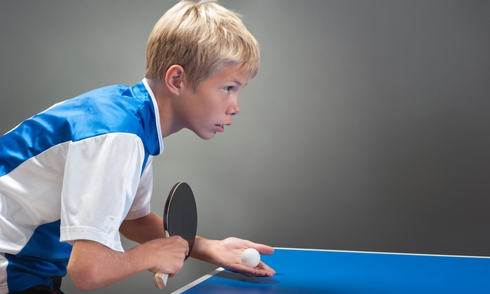Alameda Table Tennis Center - Alameda Table Tennis Center: One-Week Kids Summer Table Tennis Camp at Alameda Table Tennis Center (Up to 43% Off). Ten Options Available.