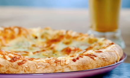 Pizza and Draft Beer Meal for Two or Four at Wild Bill's Kitchen at Total Sports (Up to 53% Off)