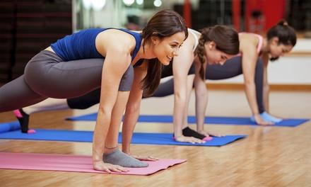 10 o 20 lezioni di corsi fitness