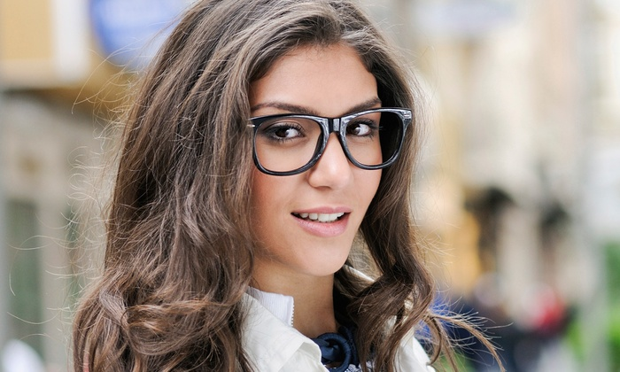 Vision Boutique - Bensonhurst: Complete Pair of Eyeglasses or Kid's Frame with Polycarbonate Lenses at Vision Boutique (Up to 64% Off)