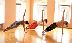 "Steamtown Hot Yoga: 5 or 10 ""Hot Yoga 60"" Classes at Steamtown Yoga (Up to 62% Off)"