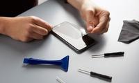 Display-Reparatur iPhone Modell nach Wahl inkl. Panzerglas, Silikonhülle und Garantie bei OK Store (bis zu 50% sparen*)