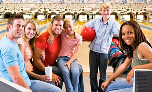 Freeway Lanes Bowling Group: $25 for Bowling with Shoe Rentals for Four from Freeway Lanes Bowling Group ($66 Value)