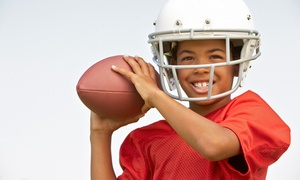 Bay Area Youth Sports: Kids' NFL or Ultimate Flag Football League from Bay Area Youth Sports (Up to 51% Off). Five Options Available.