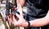 Fahrradplatten-Schnellreparatur