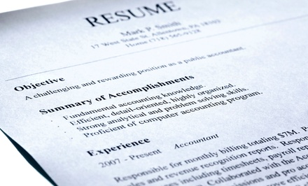 Resume Package with Optional LinkedIn Profile Optimization from TZResumes (Up to 64% Off)