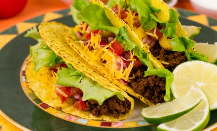 $14 for Four Vouchers, Each Valid for $6 Worth of Tex Mex Food at Tippy's Taco House ($24 Value)