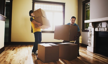 Moving Services or Two Professional Movers with a Truck for Two Hours from Start Moving (Up to 51% Off)