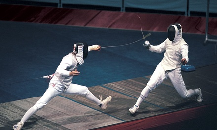 Six Introductory Fencing Lessons for One or Two at Wichita Fencing Academy (50% Off)