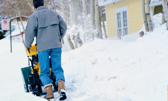 MGS Cleaning Solutions - Toronto (GTA): Snow-Removal for One- to Two-Car Driveway from MGS Cleaning Solutions (Up to 61% Off). Three Options Available.