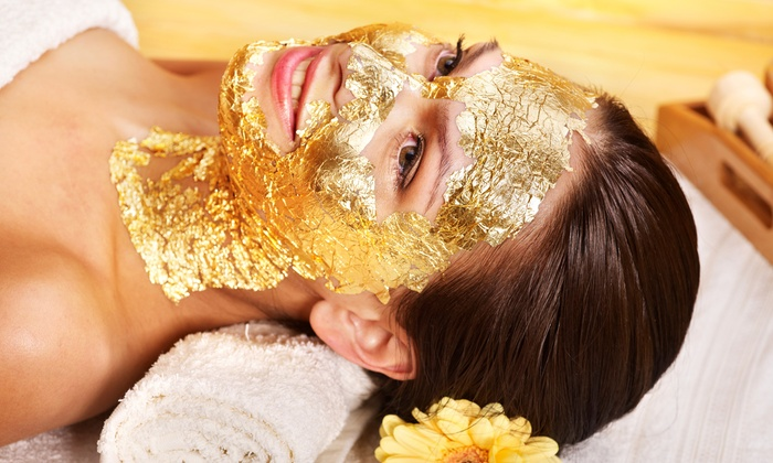 Gold Elements Spa - Burlington Mall: One or Three Signature 24-Karat Gold Spa Facials at Gold Elements Spa (71% Off)