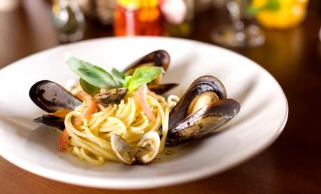 $31.50 for $60 Worth of Upscale Italian Dinner Cuisine and Drinks at John Mineo's Italian Restaurant d5407646-f1ce-437f-bb88-8a9d51e2a005
