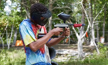 Up to 88% Off Paintball Package at Central Avenue Paintball
