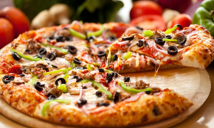 Buck's Pizza - Multiple Locations:  One or Two Groupons, Each Good for Two Large Two-Topping Pizzas at Buck's Pizza (Up to 52% Off)