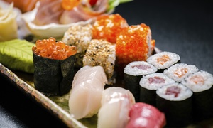 J Sushi Restaurant: Sushi and Japanese Food for Lunch or Dinner at J Sushi Restaurant (38% Off)