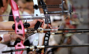 AIM Archery: 90-Minute Archery Lesson for One or Four at AIM Archery (Up to 37% Off)
