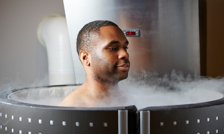 One or Three Cryotherapy Sessions at Legacy Medical Center (Up to 78% Off)