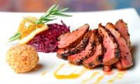 Menu en 4 services et mises en bouche pour 2 ou 4 personnes dès 49,99€ au restaurant la Clé à Genval