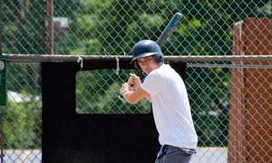 Bat-A-Rama: One or Three Groupons, Each Good for 100 Practice Pitches in a Batting Cage at Bat-A-Rama (Up to 44% Off)