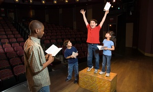 Hollywood Kids Academy: Musical Theater or Acting Classes for Kids 3–13 at Hollywood Kids Academy (50% Off). Three Options Available.