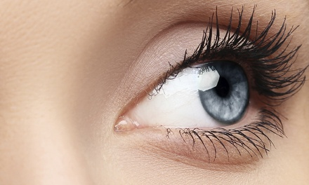 Full Set of Eyelash Extensions with Option for One Fill at EJ Nails (57% Off)