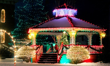 Holiday Lighting on 1, 2, or 3 Floors with Provided or Custom Lights from Cornerstone Lighting (Up to 64% Off)