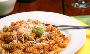 40% Off Italian Food and Drinks at Frank and Maria's at Frank and Maria's, plus 9.0% Cash Back from Ebates.
