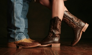 Country Dance Houston: Two or Four Private Lessons at Country Dance Houston (92% Off)