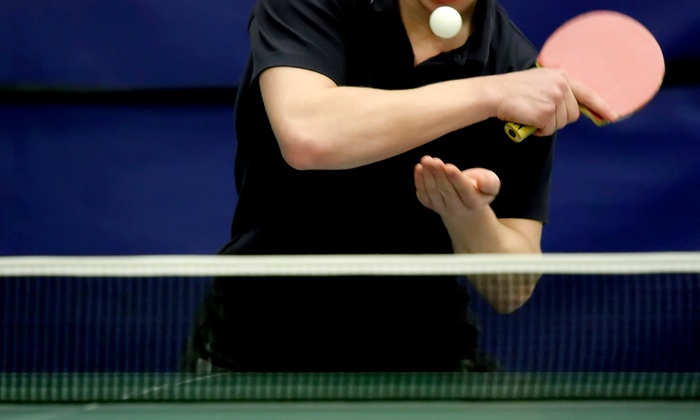 Smash Table Tennis Club - Fall River: 5 Days, 10 Days, or 2 Months of Table Tennis at Smash Table Tennis Club (Up to 53% Off)