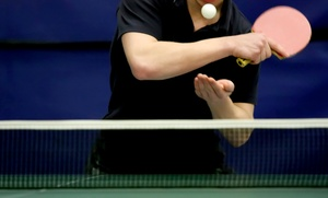 Smash Table Tennis Club: 5 Days, 10 Days, or 2 Months of Table Tennis at Smash Table Tennis Club (Up to 51% Off)